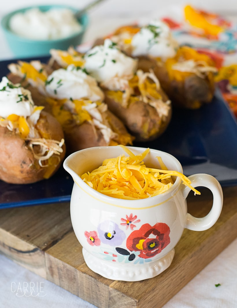 21 Day Fix Instant Pot Sweet Potatoes