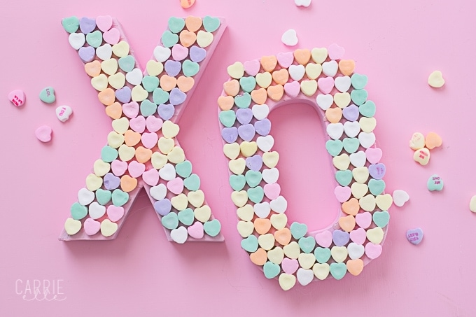 Candy Heart Craft