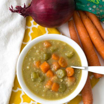 21 Day Fix Instant Pot Split Pea Soup