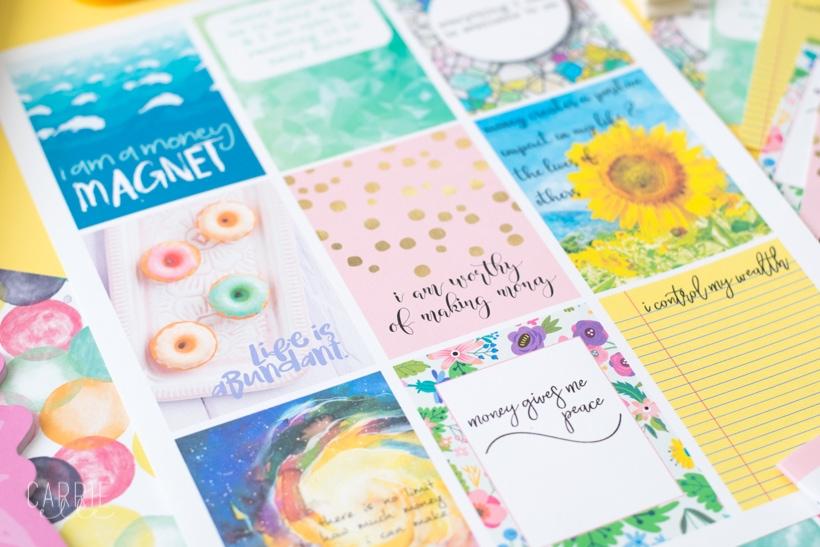 Printable Money Affirmation Cards