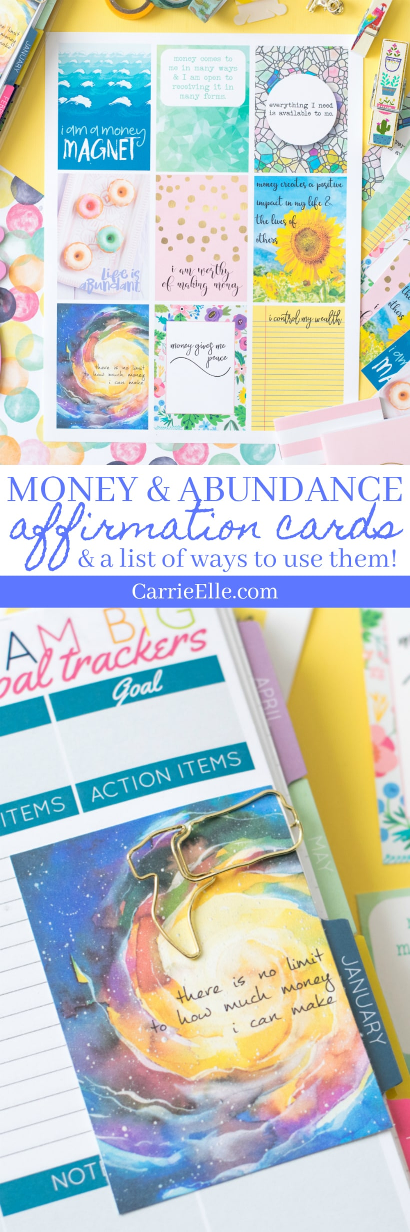 Printable Money Affirmation Cards