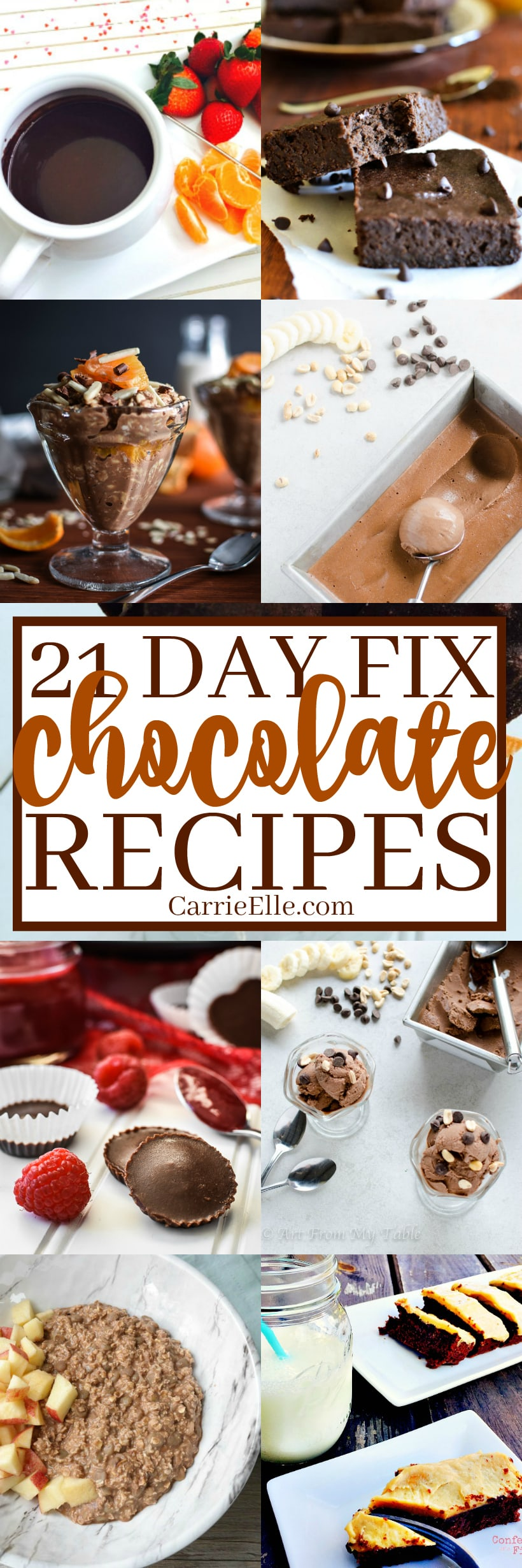 21 Day Fix Chocolate Recipes