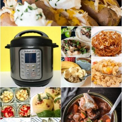 Lunch Meal Prep with the Instant Pot