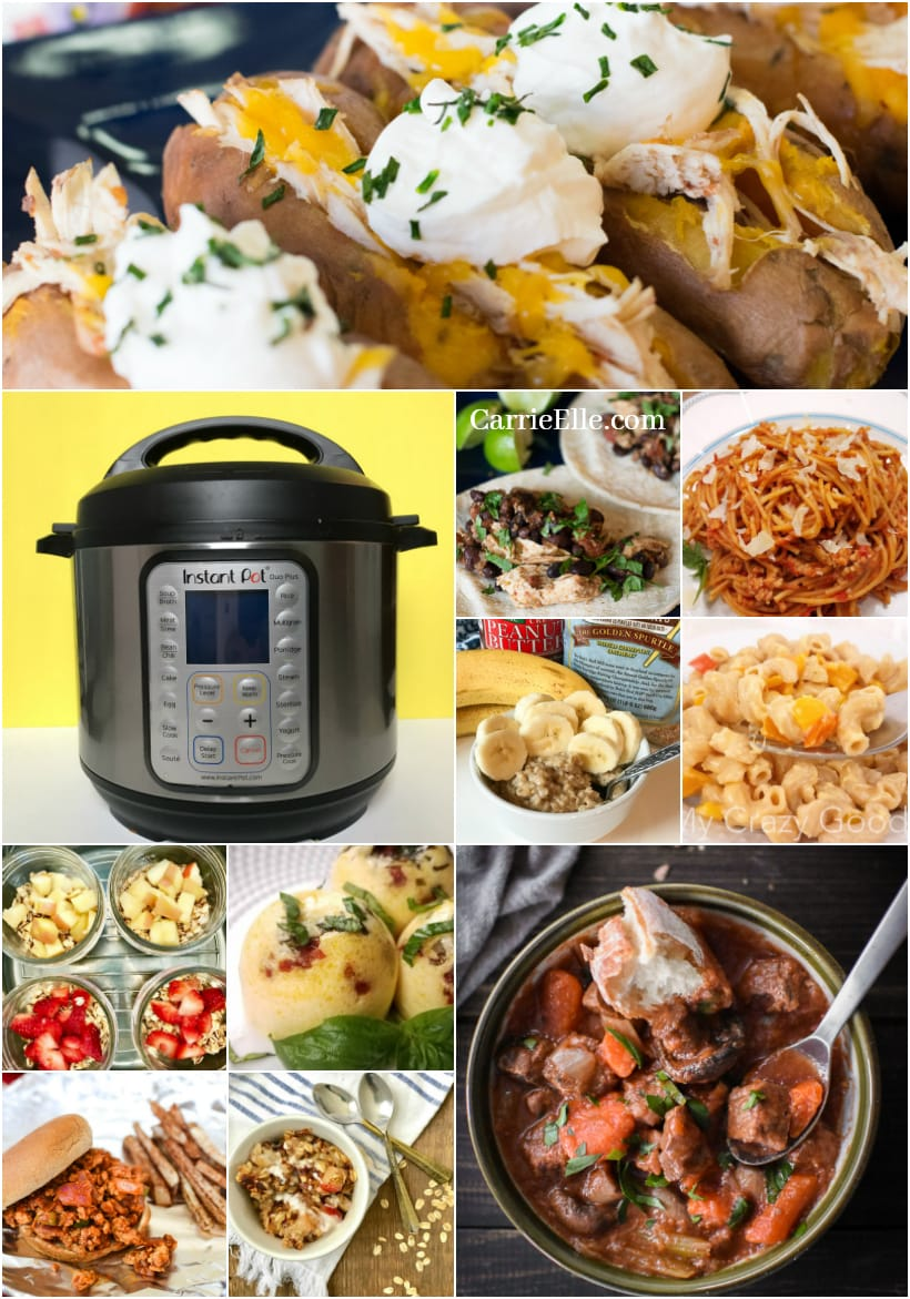 Lunch Meal Prep Instant Pot