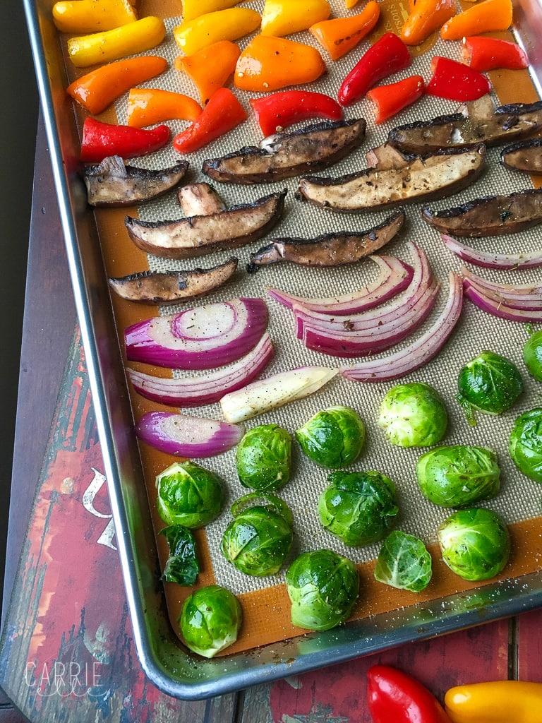 21 Day FixMediterranean Roasted Veggies