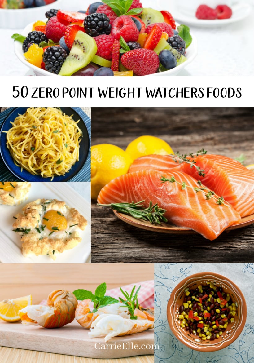 Zero Point Weight Watchers Foods