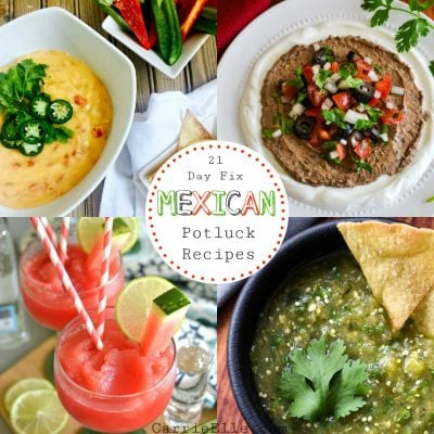 21 Day Fix Mexican Potluck Recipes