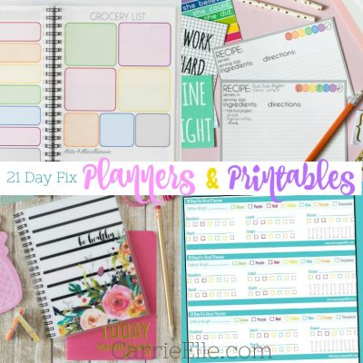21 Day Fix Planners & Printables