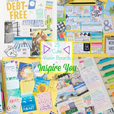 25 Cute Vision Boards to Inspire You