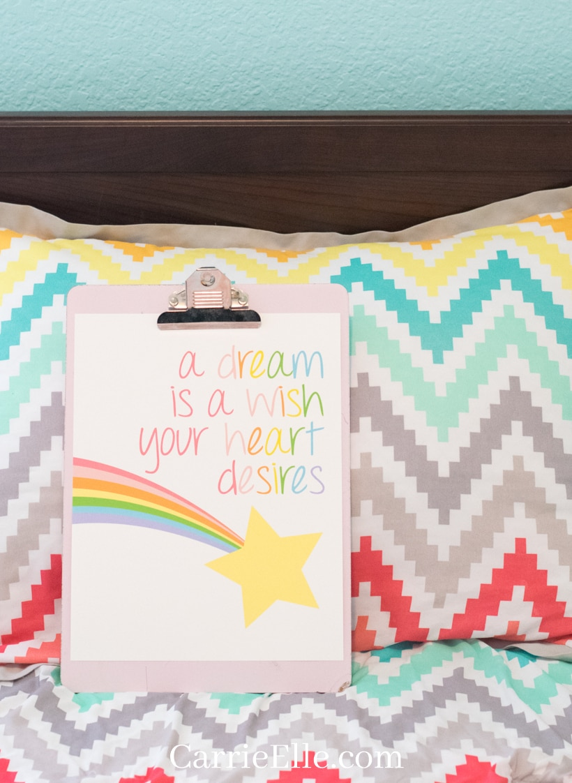 A Dream is a Wish a Heart Desires Printable