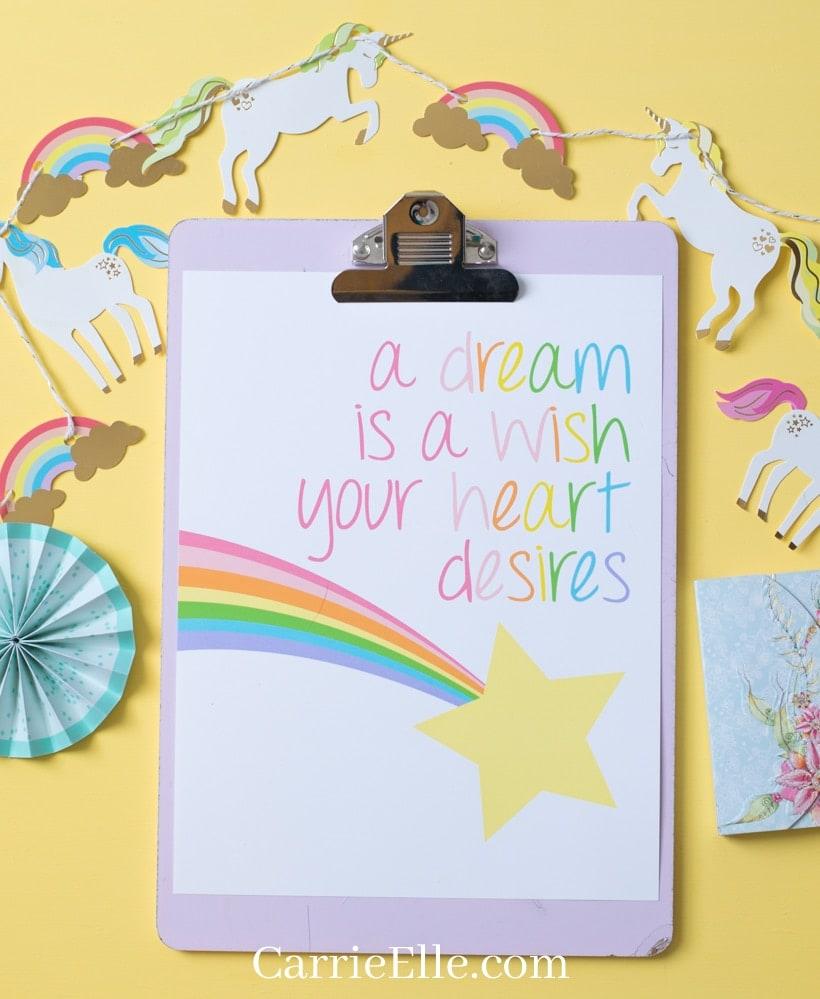 Disney-Inspired Printable Wall Art