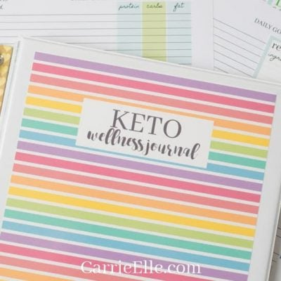 Printable Keto Tracker & Food List