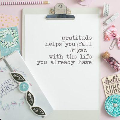 Pretty Gratitude Quote