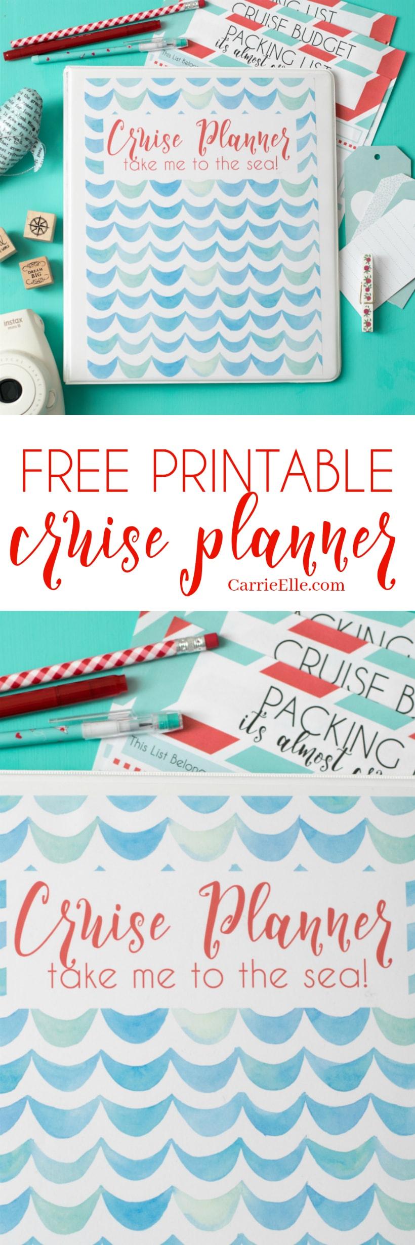 cute printable planner