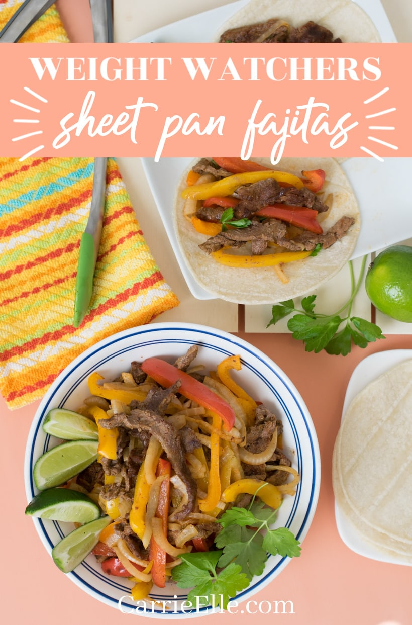 Weight Watchers Fajitas