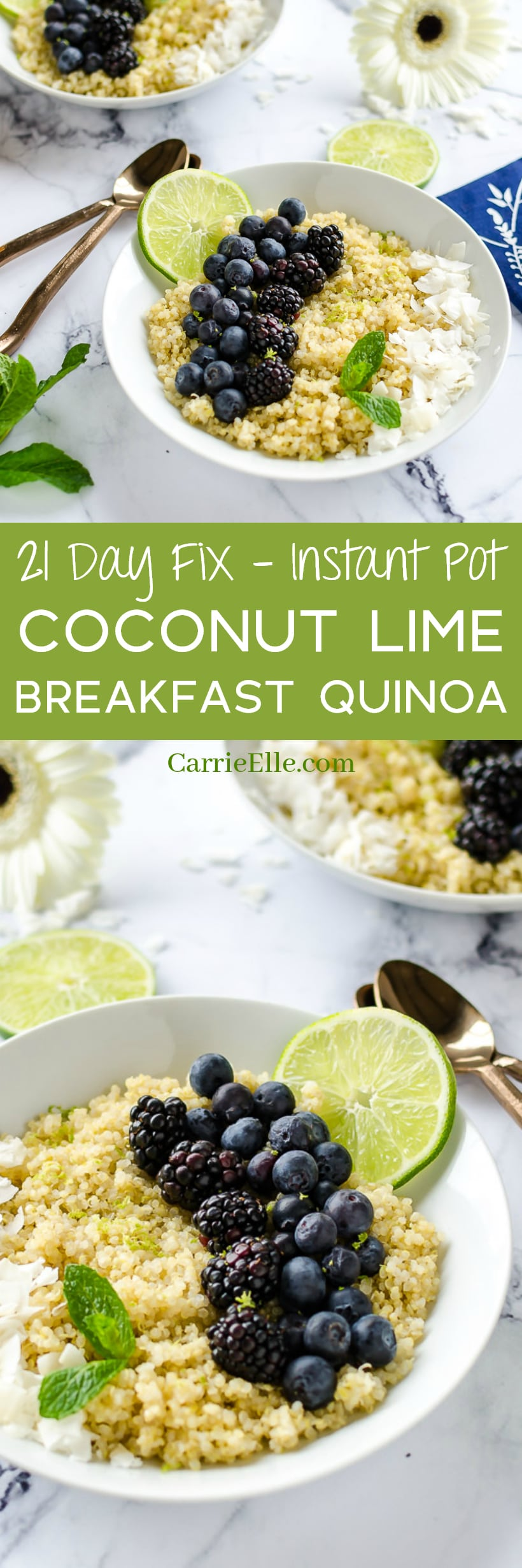 21 Day Fix Instant Pot Breakfast Quinoa