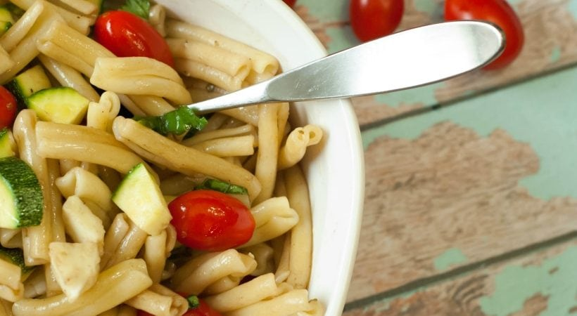 Summertime Pasta Salad (Easy Recipe!)