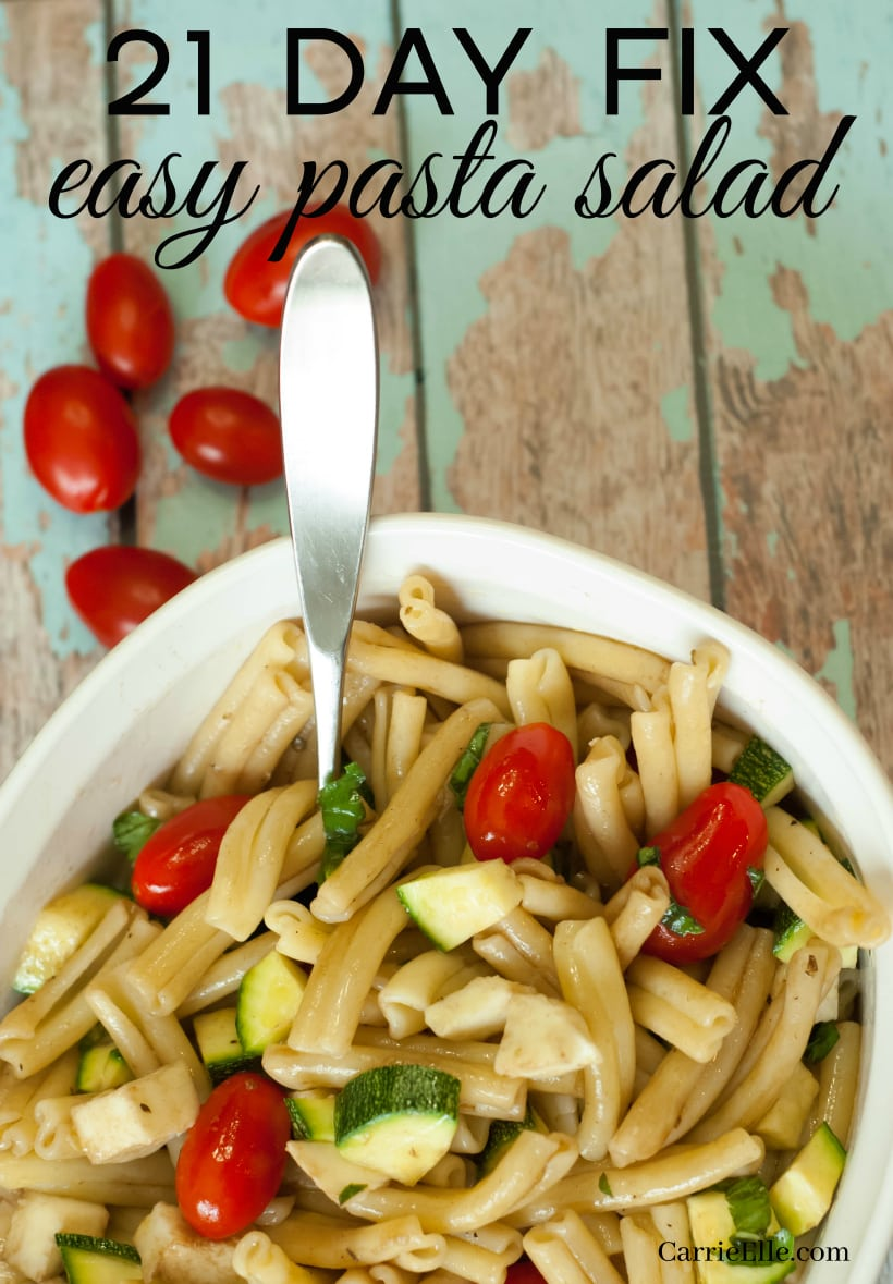 21 Day Fix Pasta Salad