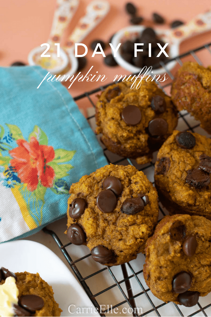 21 Day Fix Pumpkin Muffins