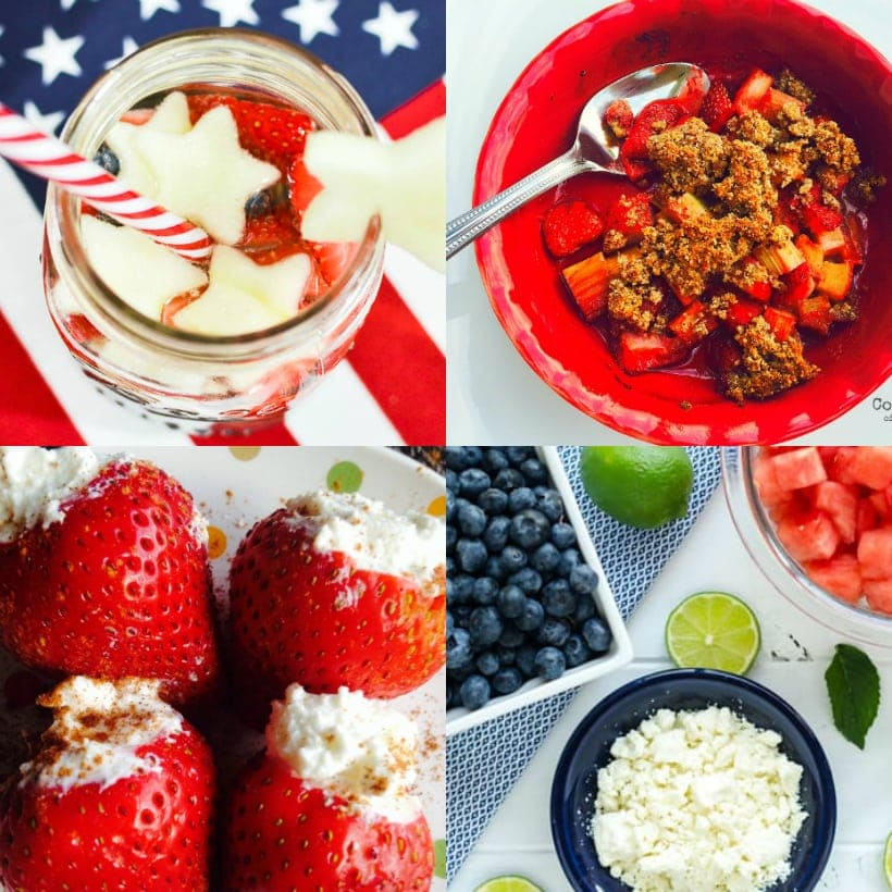 Red White and Blue 21 Day Fix Recipes