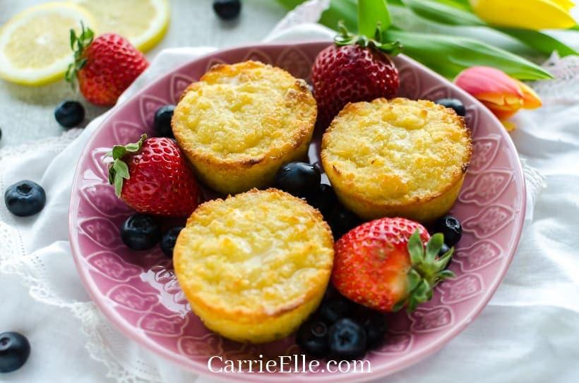 Gluten-Free Lemon Muffins 21 Day Fix