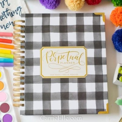 Perpetual Planner: The Best Undated Planner