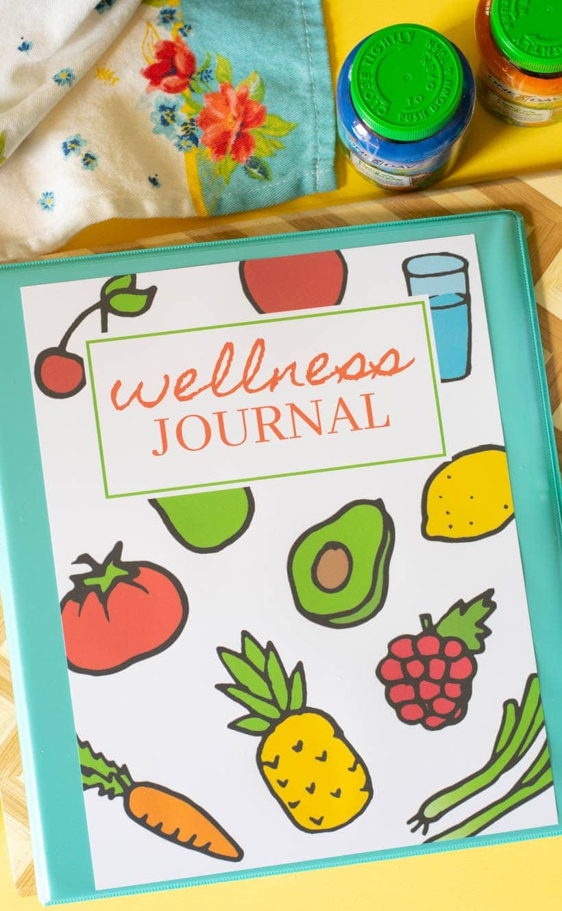Printable Wellness Journal