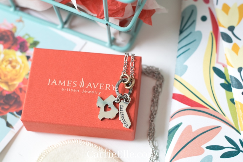 James Avery State Charm Necklace