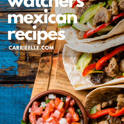 Weight Watchers Mexican Recipes