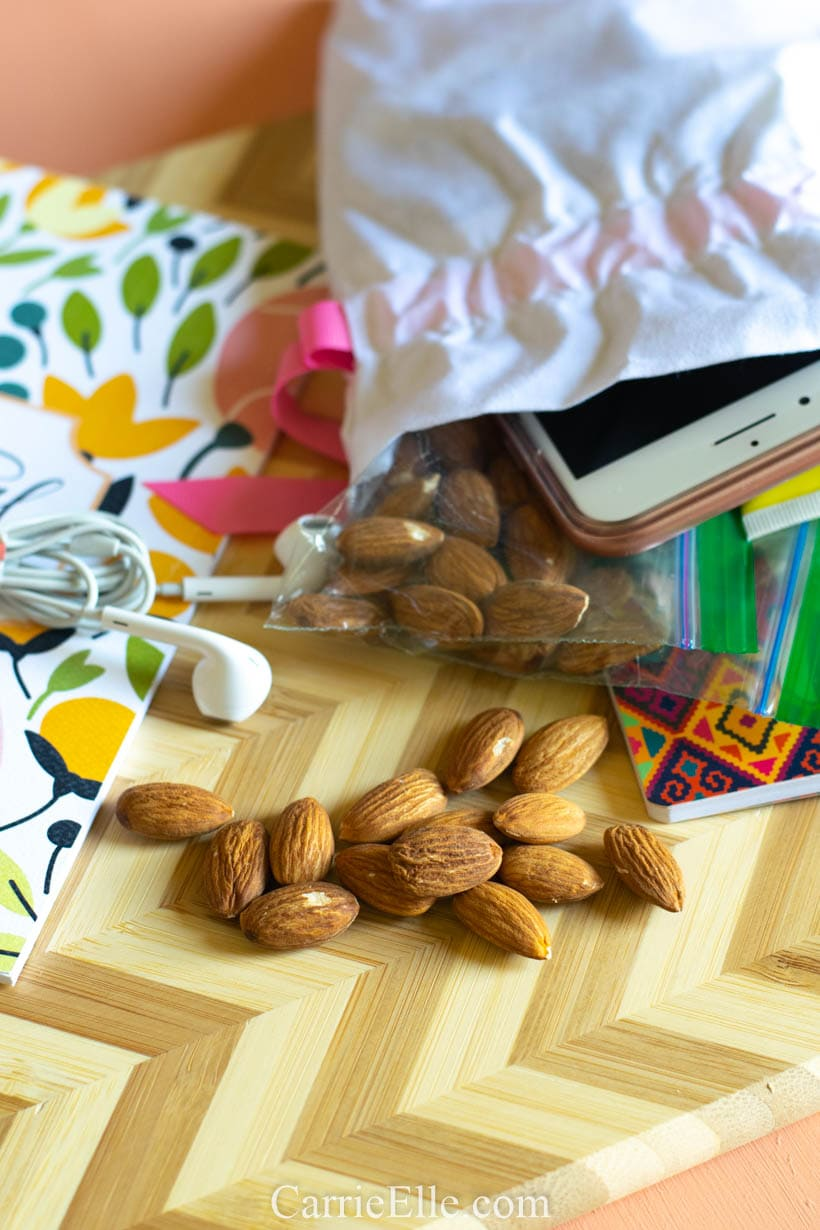 Almonds on the go