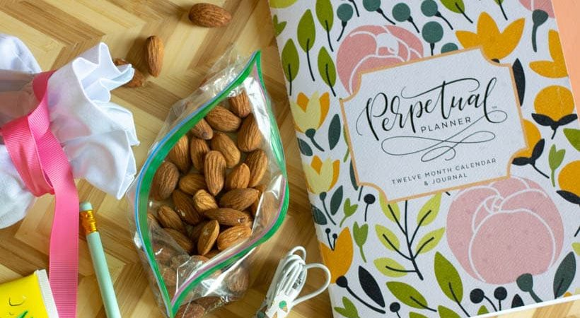 Easy, Healthy Snack: Almonds on the Go