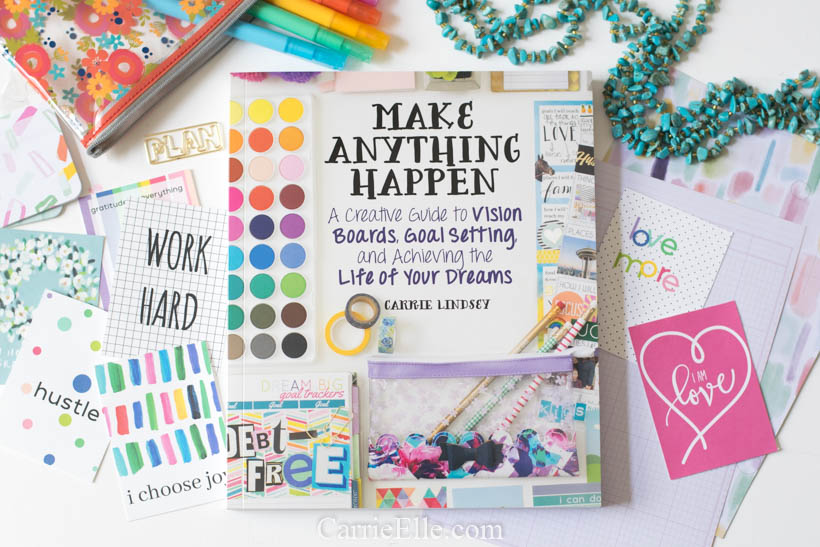 Make Anything Happen Vision Board Book