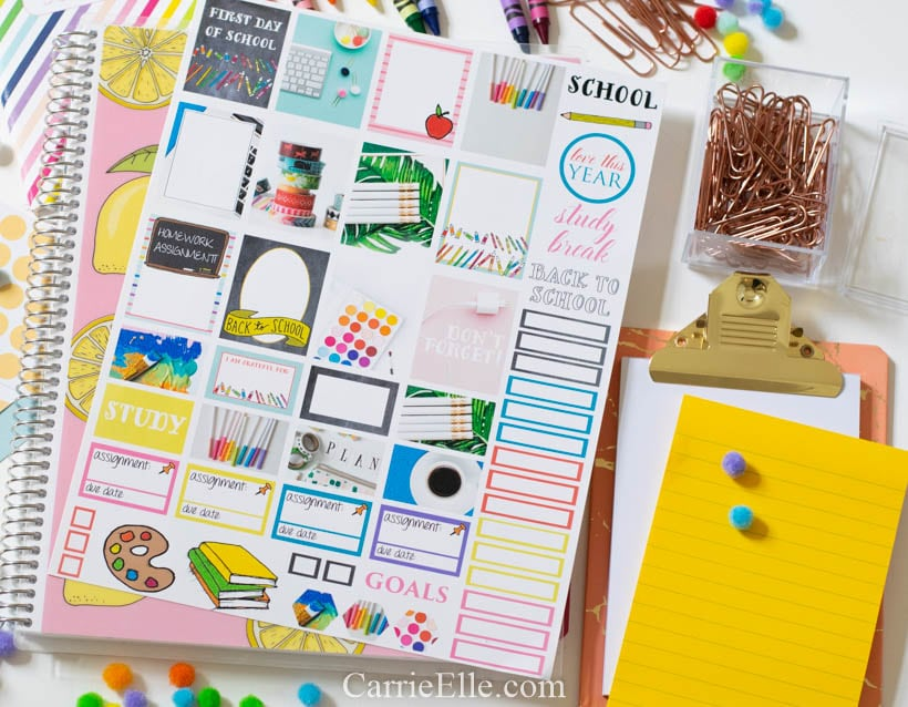 Printable BTS Planner Stickers
