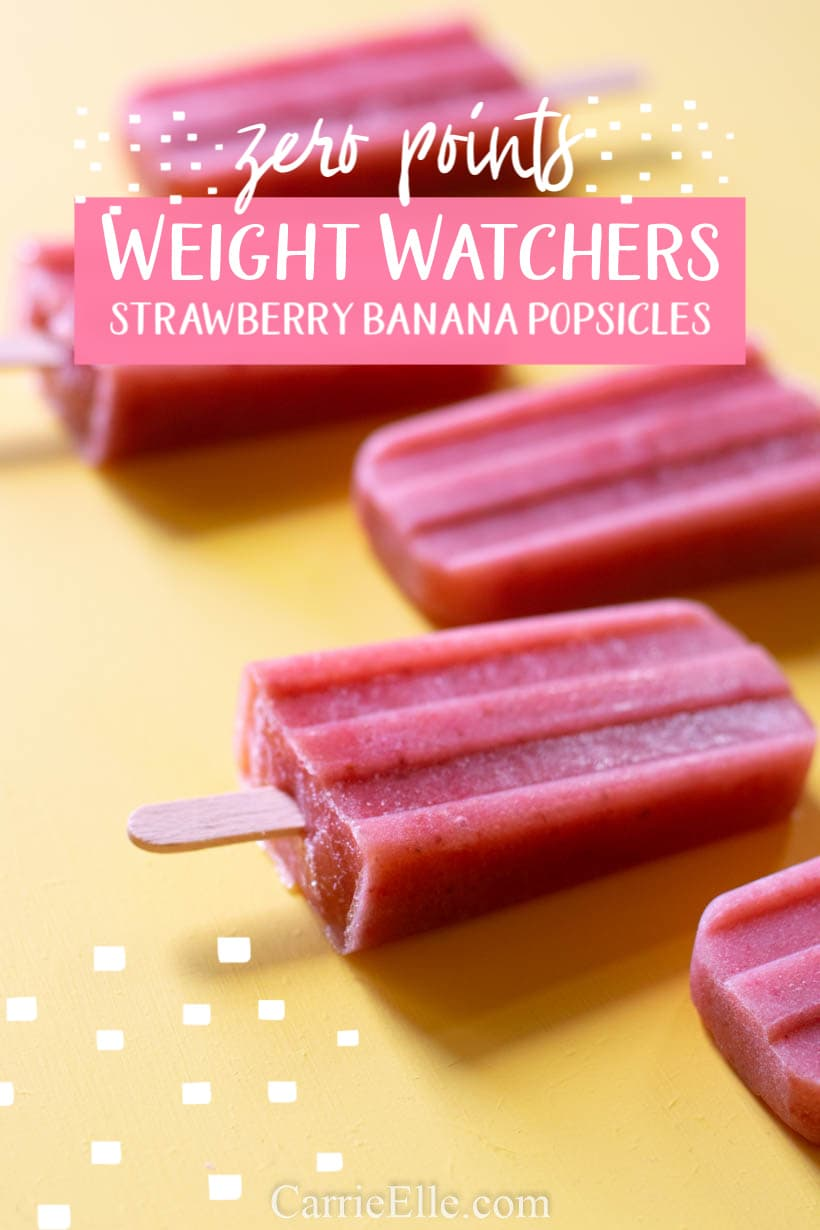Weight Watchers 0 Points Popsicle
