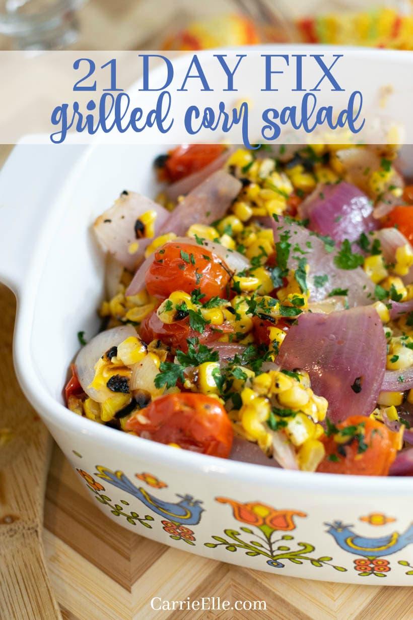 21 Day Fix Grilled Corn Salad