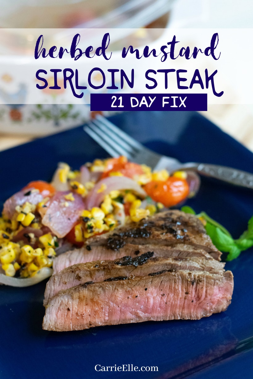 21 day fix steak