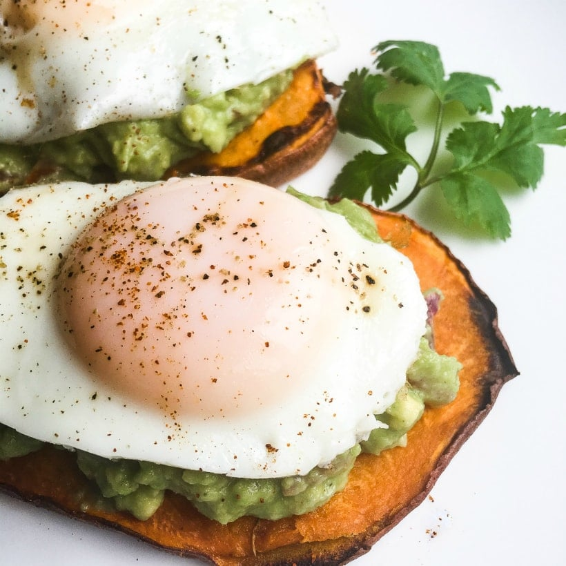 21 Day Fix Sweet Potato Toast