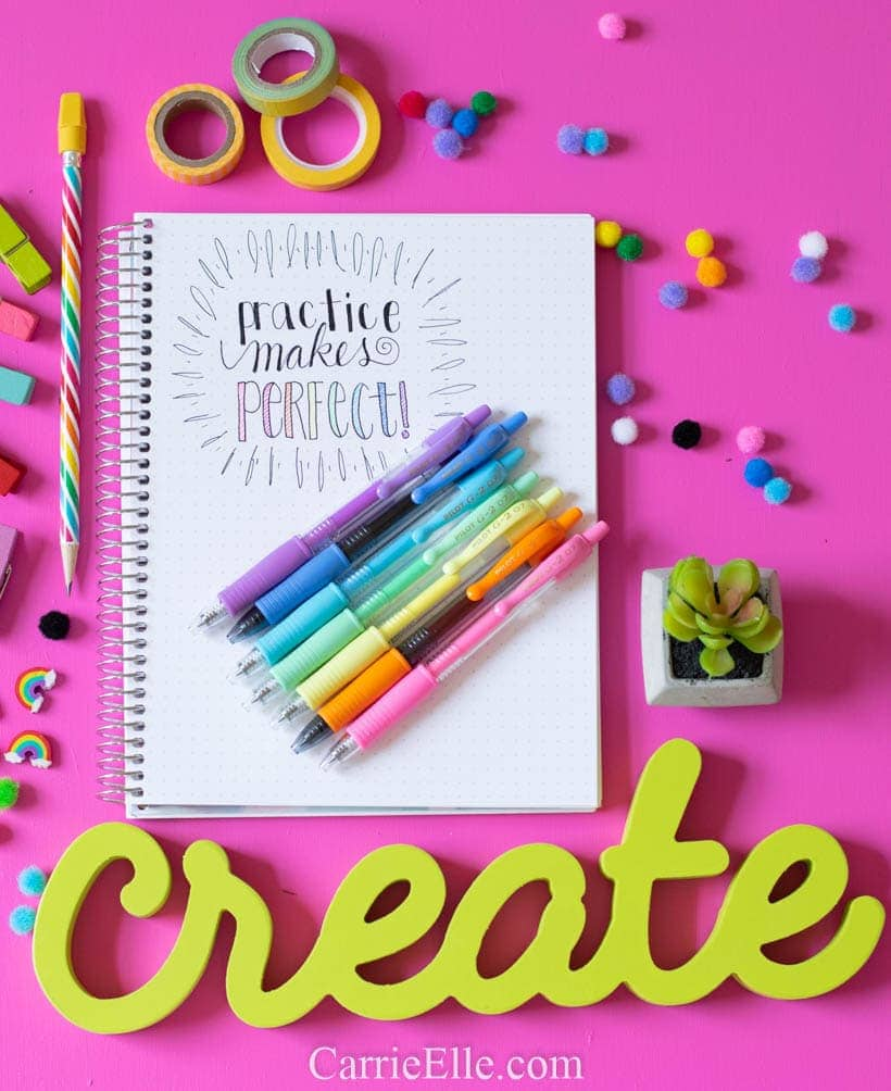 Easy Hand Lettering for Planners