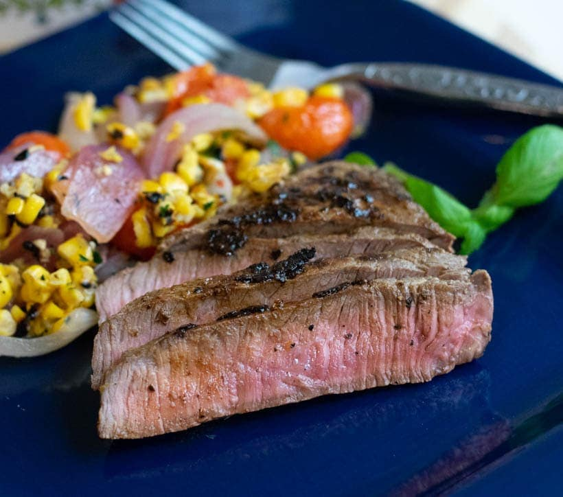 Herbed Mustard Sirloin Steak