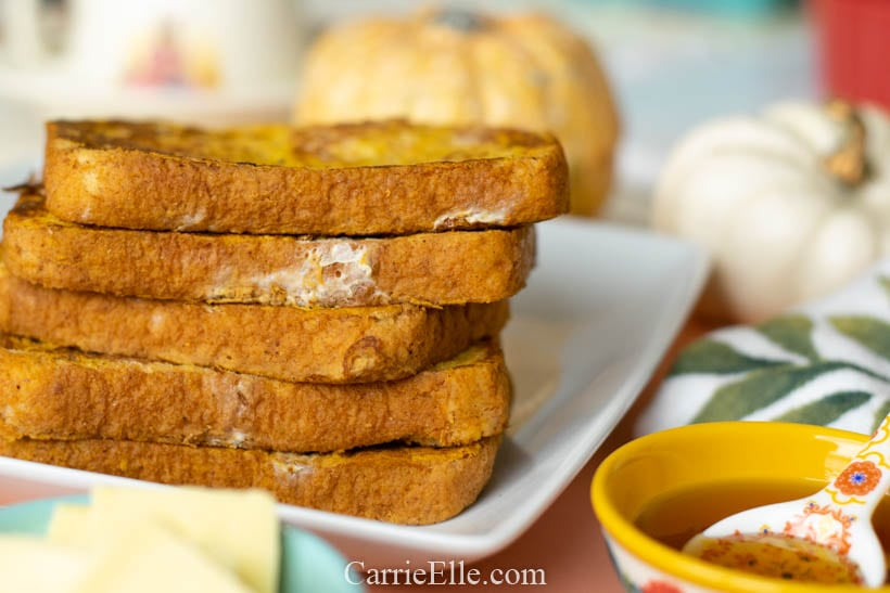 21 Day Fix Pumpkin French Toast
