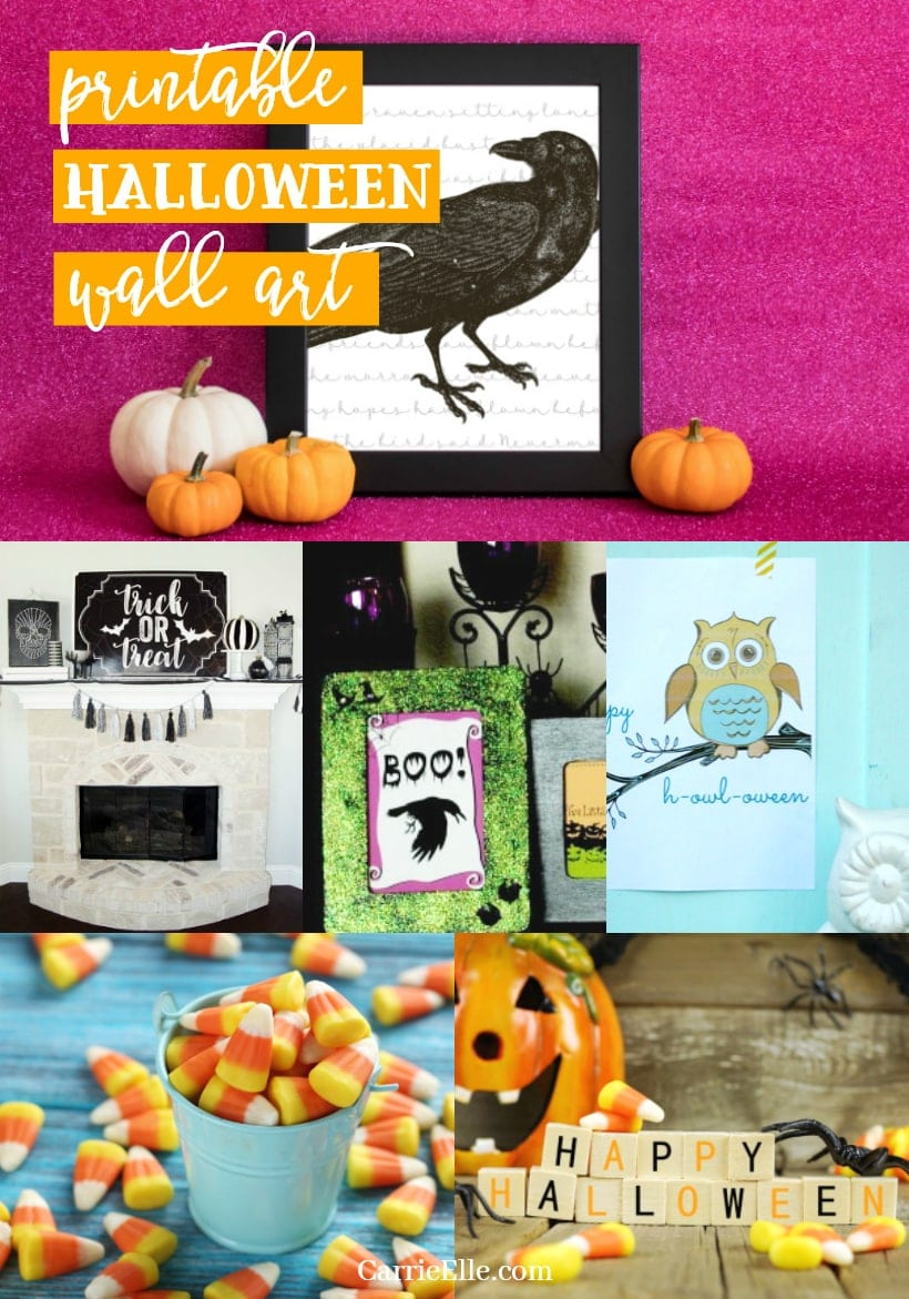 Printable Halloween Wall Decorations