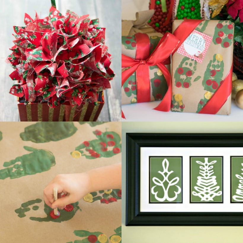 $5 DIY Christmas Gifts for Grandparents