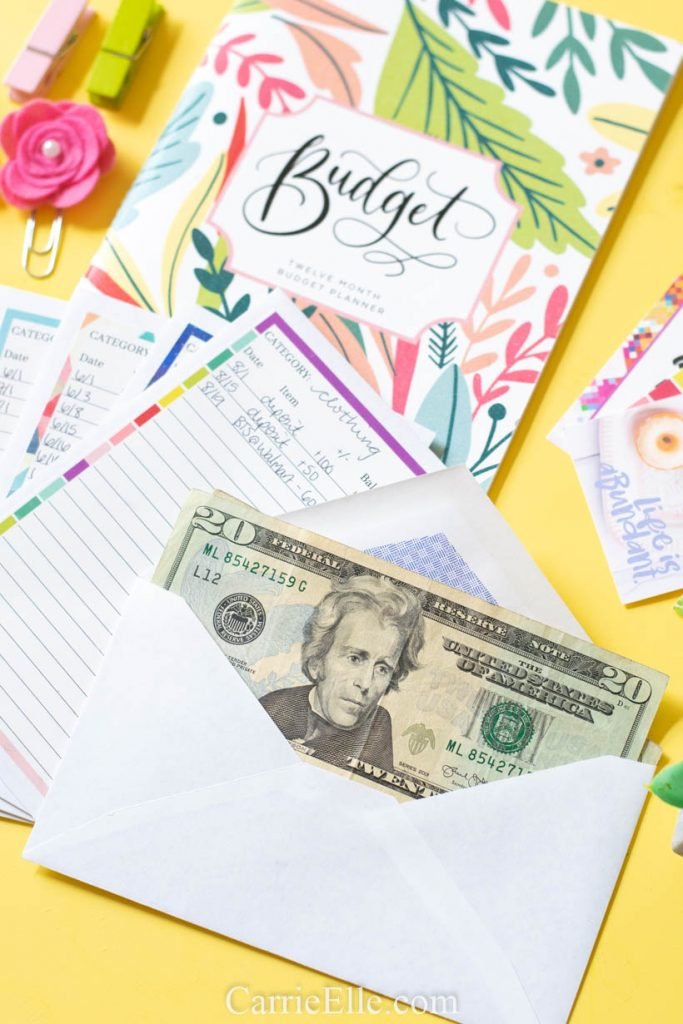 rintable DIY Cash Envelopes