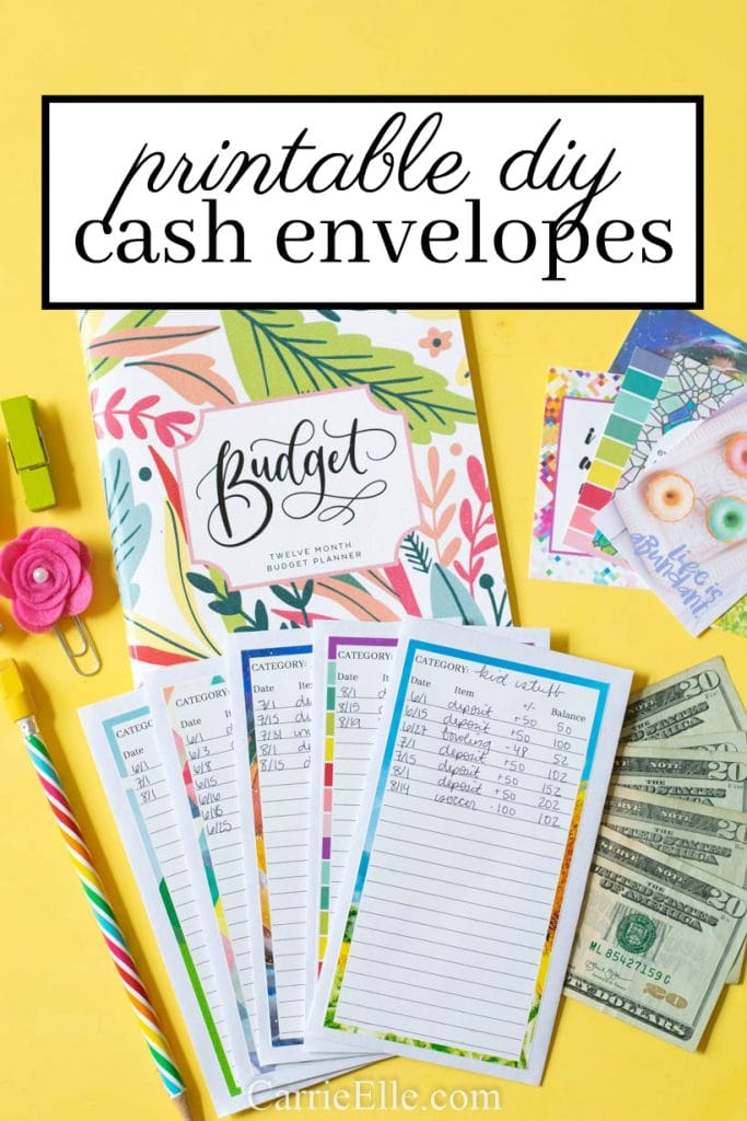 Printable DIY Cash Envelope System