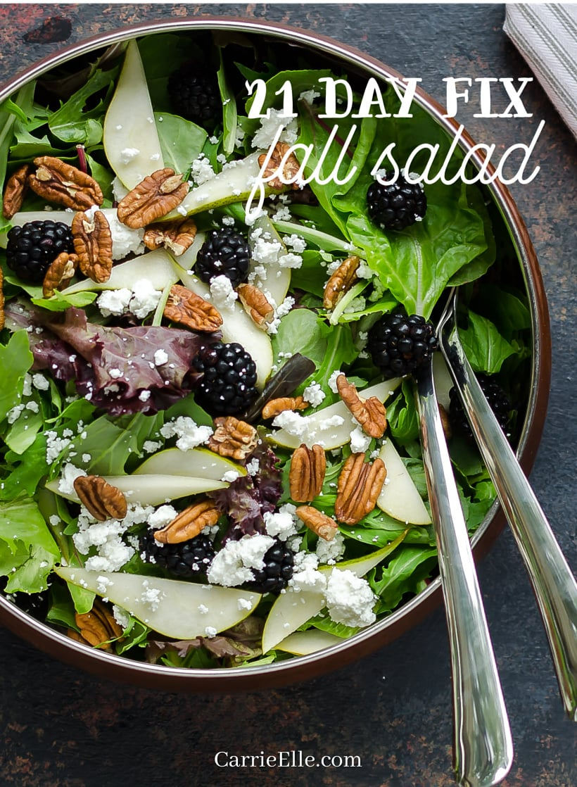 21 Day Fix Fall Salad
