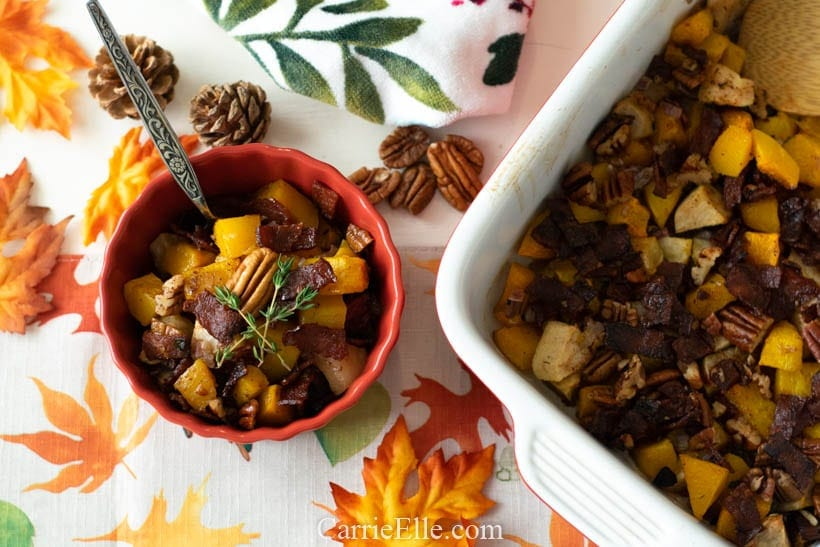 21 Day Fix Butternut Squash Fall Casserole