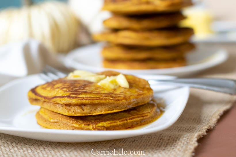 21 Day Fix Pumpkin Protein Pancakes