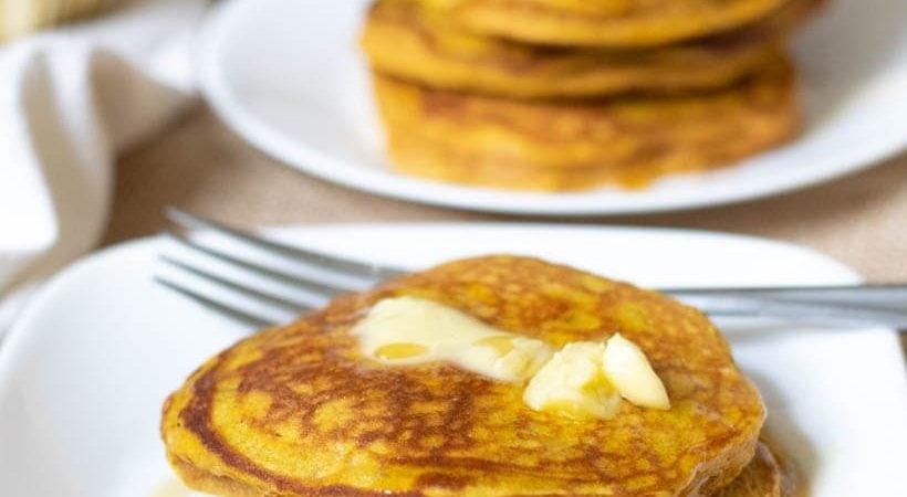21 Day Fix Pumpkin Spice Protein Pancakes