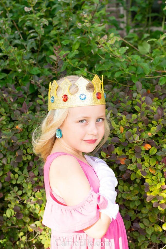 DIY Princess Peach Costume