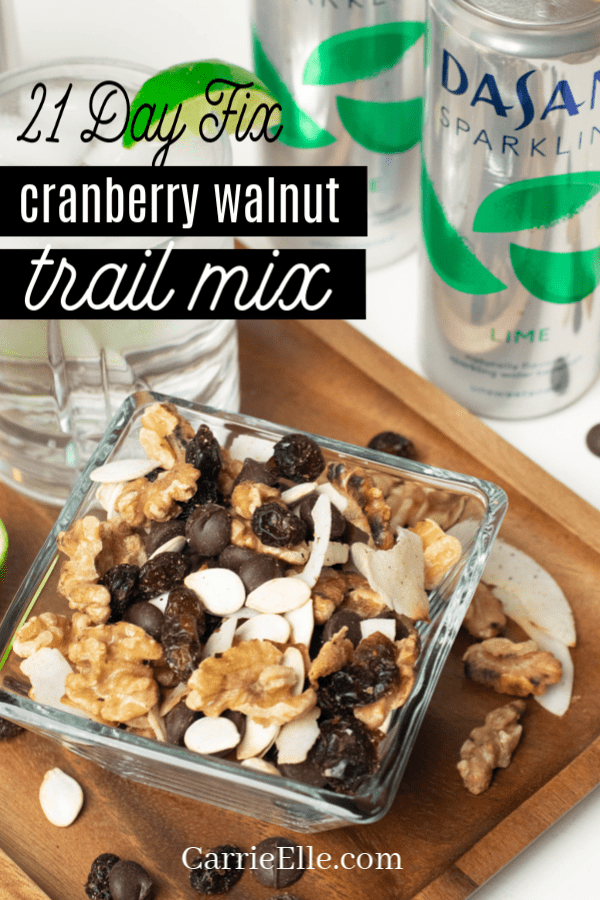 21 Day Fix Cranberry Walnut Trail Mix